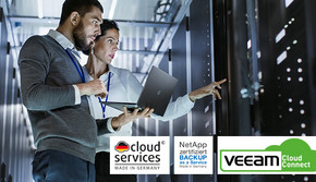 Backup as a Service mit Veeam Cloud Connect und NetApp Storage